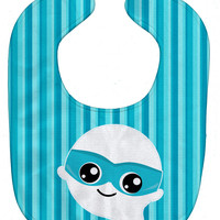 Halloween Ghost Superhero Baby Bib BB6963BIB
