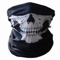 Skull Protective Dust Halloween Party Mask horror Bandana Motorcycle Polyester Scarf Face Neck Warmer mascara masquerade masks = 5979159745