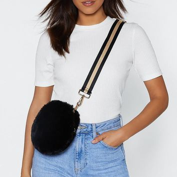 WANT Little Bundle of Joy Faux Fur Bag