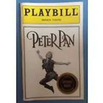 Peter Pan Opening Night Playbill