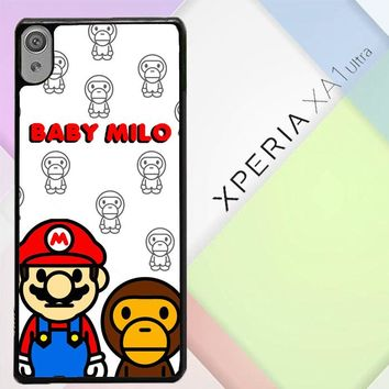 Baby Milo And Mario W4812 Sony Xperia XA1 Ultra Case