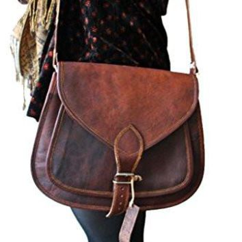 Leather Purse Women Handbag Tote Leather Crossbody Shoulder Satchel Diaper Bag Travel Handbag