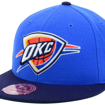 Oklahoma City Thunder NBA XL Logo 2-Tone Fitted Cap