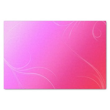 "Hot Pink 10"" X 15"" Tissue Paper"
