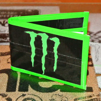 Monster Energy Duct Tape Wallet by TaylorTape on Etsy