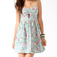 Ditsy Floral Sweetheart Dress