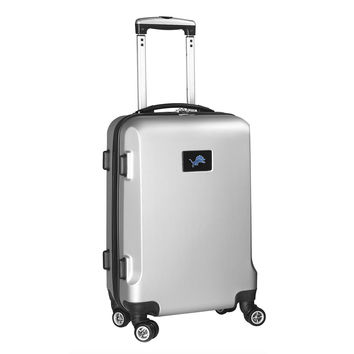 Detroit Lions  20'' Hardcase Luggage Carry-on Spinner-Silver