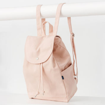 Minimal Drawstring Backpack Shell