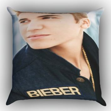 Justin Bieber Cool Photos X0049 Zippered Pillows  Covers 16x16, 18x18, 20x20 Inches