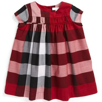 Burberry Ariadne Check Dress (Baby Girls) | Nordstrom