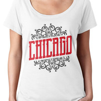 Retro Chicago Hometown Pride Tshirt ( Six 3 )