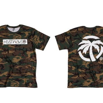 Heat Wave Icon T-Shirt Camo