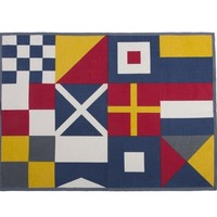 Sailing Flags Tea Towel