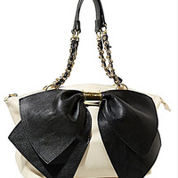 Black/Ivory Betsey Johnson Handbag