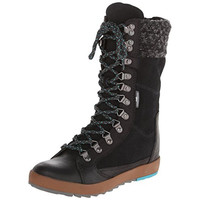 Cushe Womens Boho Chill Leather Casual Lace-Up Boot