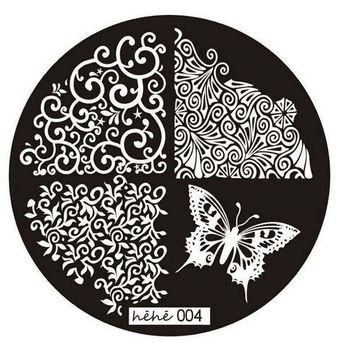 ICIKJY1 1PC Good Quality 2016 Butterfly Pattern Nail Art Image Stamp Stamping Plates Manicure Template Nail Art Tool