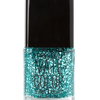 FOREVER 21 Emerald Jewel Glittered Nail Polish Turquoise One