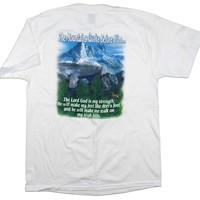The Mountains Quake Christian Tee