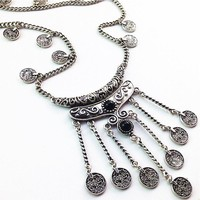 Coin Bohemia Jewelry Chic Vintage Necklace For Women