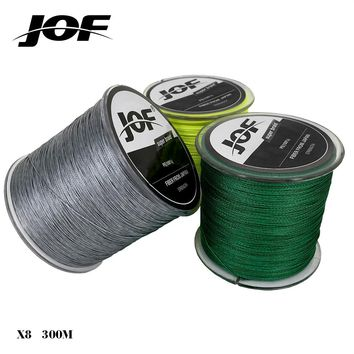 Cheap!!! 2018 New PE Braided Fishing Line Multifilament 8 Stands Carp Fishing Rope Wire 300m Super Strong 18 28 35 40 50 60 80LB