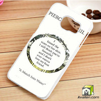Pierce The Veil Song Lyrics Samsung Galaxy S6 Edge Case by Avallen