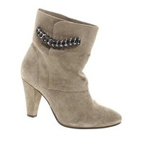 IRO Chunky Heeled Boot With Chain Strap at asos.com