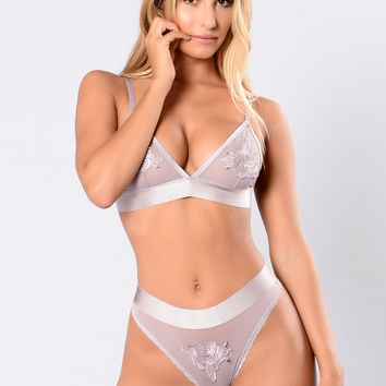 Love Therapy Bra - Lilac