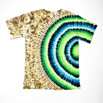 Radiating Oasis Planet Large T-Shirt