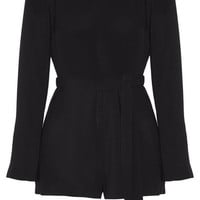 Elizabeth and James - Lucille crepe playsuit
