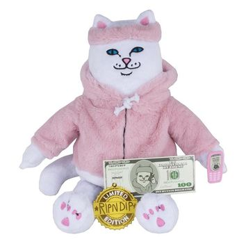 Killa Nerm Plush Doll (White) | RIPNDIP