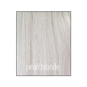 Princess Deluxe Hair - Pearl Blonde - Color 60A - Luxury For Princess - Clip-In Hair Extensions