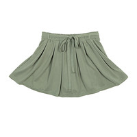 Ribbon Skirted Shorts