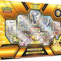 Pokemon TCG Pikachu EX Legendary Premium Collection Box Sealed