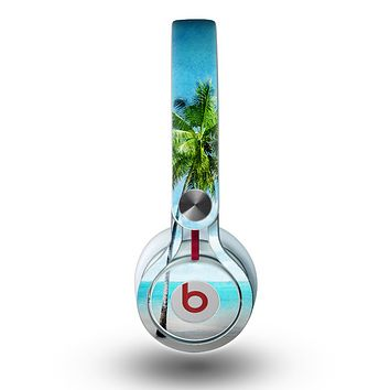 The Paradise Beach Palm Tree Skin for the Beats by Dre Mixr Headphones
