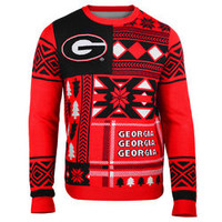 Georgia Bulldogs Ugly Christmas Sweater
