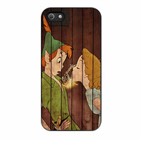 Wendy Kiss Peterpan Wood iPhone 5 Case