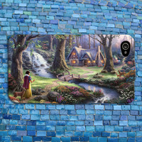Disney Snow White iPhone Case Gorgeous Scene Oil Painting Phone Cover iPhone 4 iPhone 5 iPhone 4s iPhone 5s iPhone 5c Case