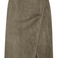 Jason Wu - Suede wrap skirt