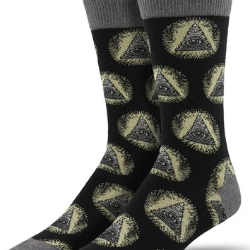 Illuminati Men's Crew Socks