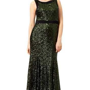Badgley Mischka Front and Center Gown