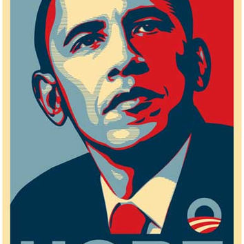 Barack Obama HOPE Presidential Campaign Poster 11x17
