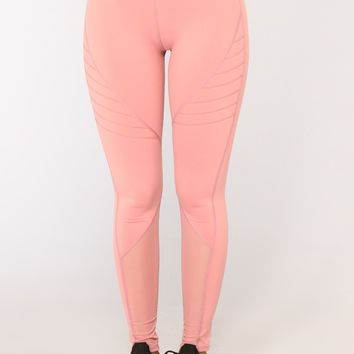 Kammy Leggings - Rose