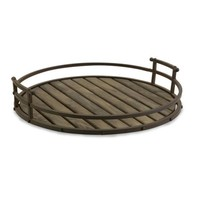 Vermont Iron and Wood Tray