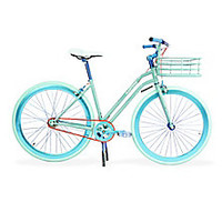 Martone Cycling Co. - Step-Through Bike with Basket - Saks Fifth Avenue Mobile