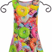 Flowers by Zoe Tank Dress with Doughnuts