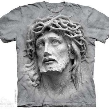The Mountain CROWN OF THORNS Jesus Adult Men T-Shirt S-2XL Short Sleeve