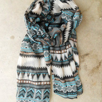 Native Rivers Scarf [3333] - $13.60 : Vintage Inspired Clothing & Affordable Fall Frocks, deloom | Modern. Vintage. Crafted.