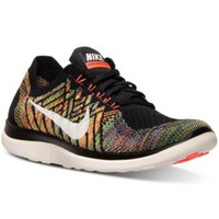 Nike Women's Free Flyknit 4.0 Running Sneakers from Finish Line | macys.com