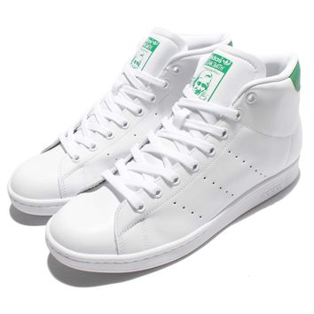 adidas Originals Stan Smith Mid White Green OG Men Classic Shoes Sneakers S75028