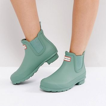 Hunter Original Chelsea Boot at asos.com